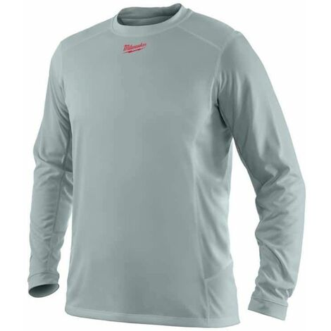 Camiseta de manga larga MILWAUKEE Workskin - Gris - Talla XL - WWLSG - 4933464196
