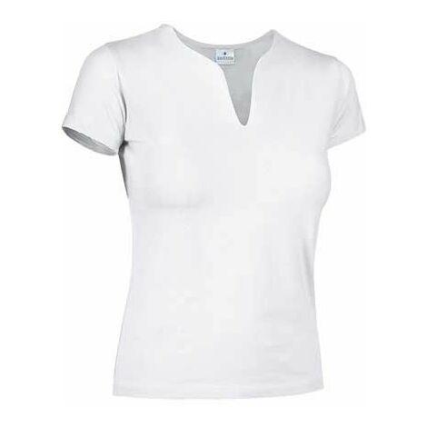 Camiseta de mujer de manga corta y cuello en forma de lágrima - Cancun