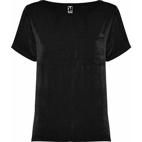 Camiseta de mujer de manga corta y escote amplio MAYA CA6680