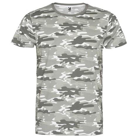 Camiseta manga corta, estampado camuflaje MARLO CF1033