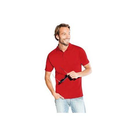 Camiseta Polo Talla 2XL, rojo