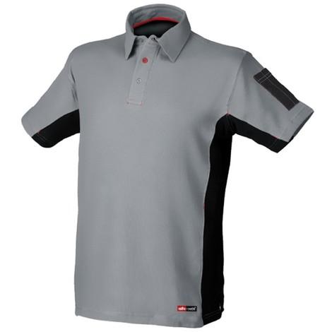 Camiseta Stretch Gris/Negro T-S