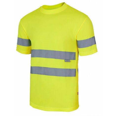 Camiseta técnica alta visibilidad Serie 305505