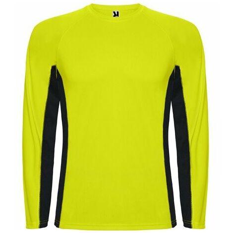6bb36a7da Camiseta técnica combinada con tejidos poliéster SHANGHAI L S CA6670 ...