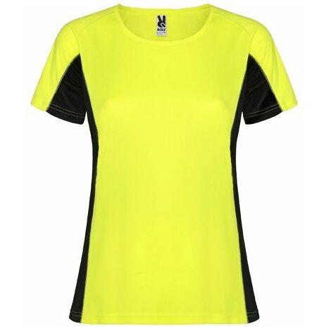 b85760103 Camiseta técnica combinada dos tejidos poliéster SHANGHAI WOMAN CA6648