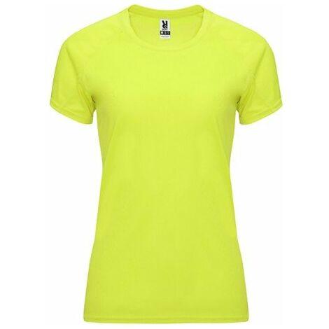 09b2ea035 Camiseta técnica de manga corta ranglán para mujer CA04080103