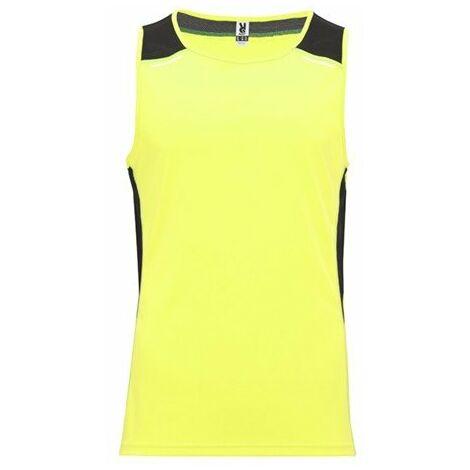 Camiseta técnica de tirantes con detalles reflectantes CA66820122102