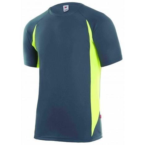 Camiseta trabajo 3xl tecnica polie m/corta gr/ama velilla