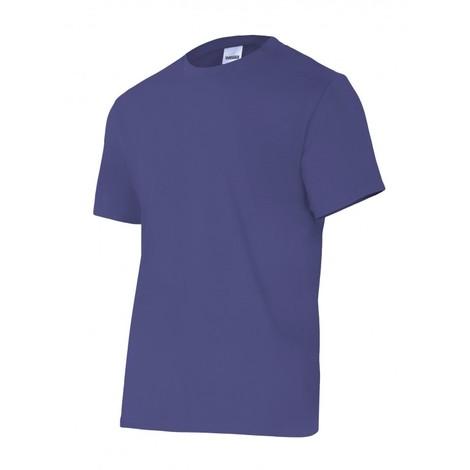 Camiseta trabajo m 100%alg. m/corta az/mar 5010 velilla