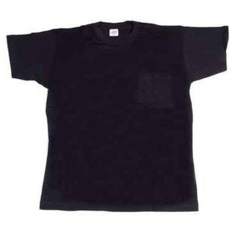 Camiseta trabajo m 100%alg. m/corta az/mar 634 juba