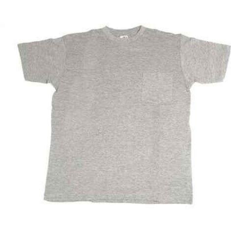 Camiseta trabajo m 100%alg. m/corta gr 633 juba