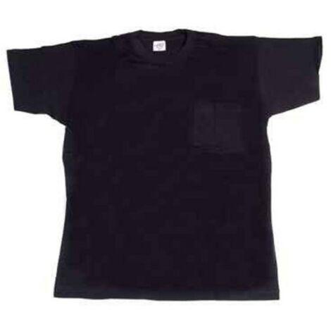 Camiseta trabajo xl 100%alg. m/corta az/mar 634 juba