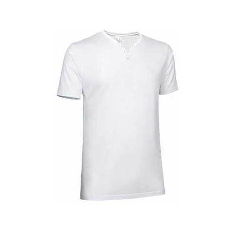 Camiseta unisex de manga corta con cuello muy abierto - Lucky