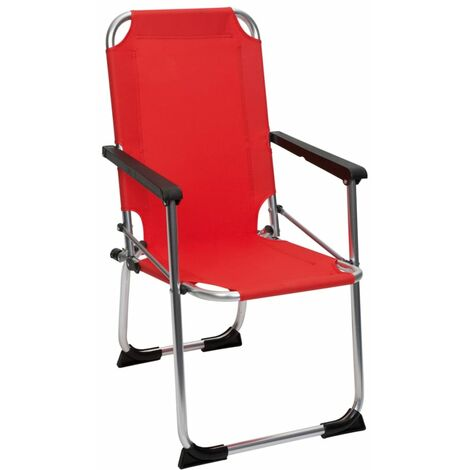 Miraculous Camp Gear Folding Camping Chair For Kids Red Aluminium 1211929 Pdpeps Interior Chair Design Pdpepsorg