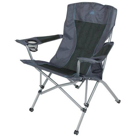 Sedie Da Campeggio Pieghevoli.Camp Gear Sedia Da Campeggio Pieghevole Comfort Deluxe Antracite 1204744