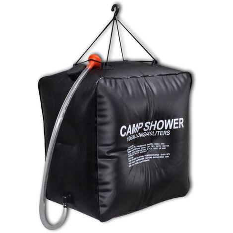 Camp Shower Solar Shower Outdoor Bath 40 L