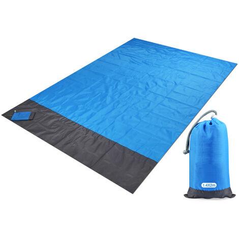 Campamento Playa Mat Manta impermeable al aire libre alfombra de picnic portatil de picnic cubierta de tierra 1.4 * 2M