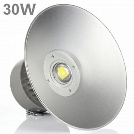 Campana Industrial LED 30W 6000K Luz brillante PF 0,95 potencia 100% real High bay LED