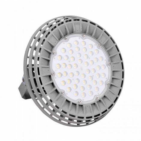 Campana Industrial LED UFO Meanwell 200W gris 4000k