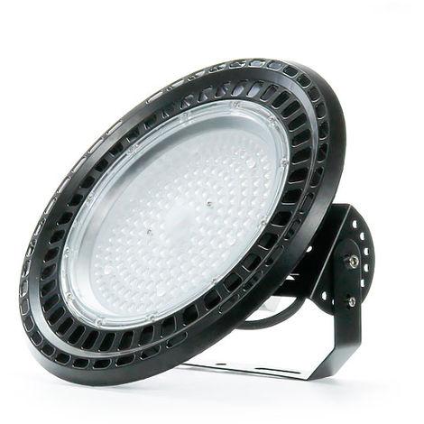 Campana Industrial LED UFO Philips Mean Well 150W 160Lm/w IP67 (5 Años de Garantía) Blanco Frío 5700K | IluminaShop