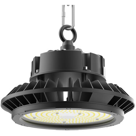 Campana industrial UFO 200W Osram 1-10V regulable, Blanco frío, regulable
