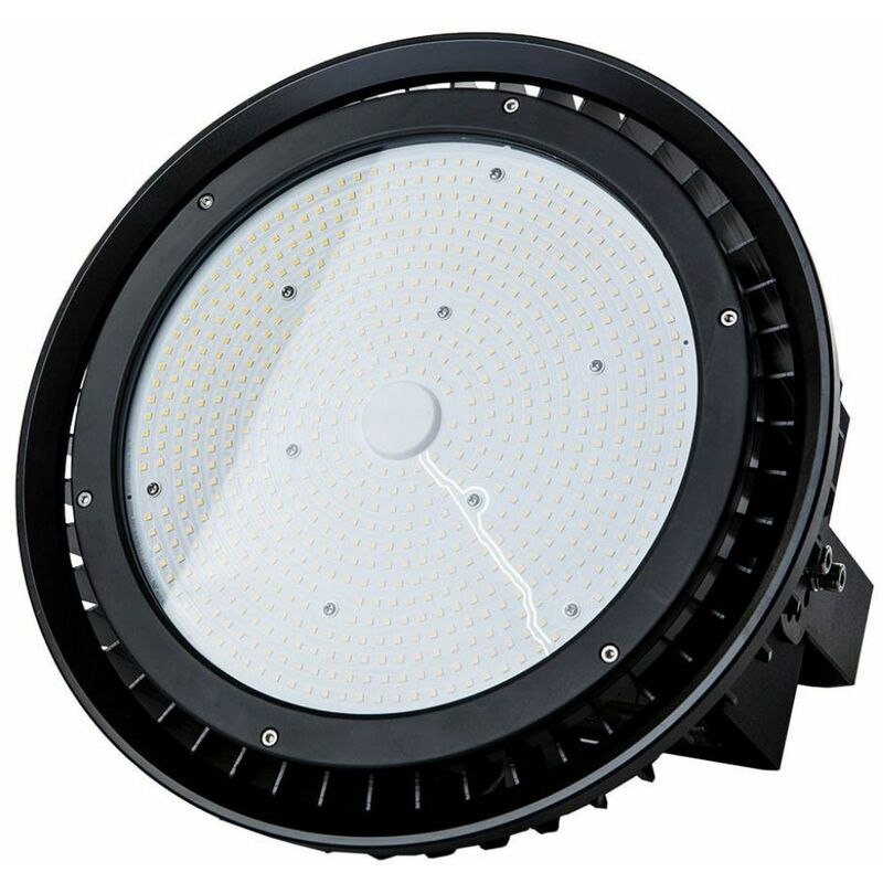 Campana Industriale LED SMD 500W UFO con Driver MeanWell 120° 4000K IP65 Dimmerabile ( 0-10V ) - V-tac