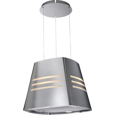 campana isla decorativa 90cm 460m3 / h acero inoxidable - ad1079x - brandt -
