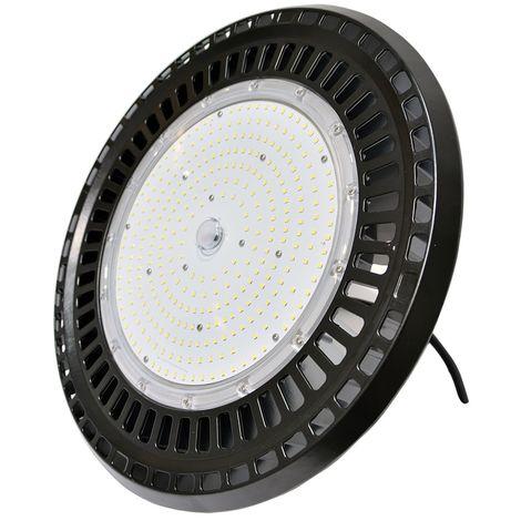 Campana LED industrial UFO 200W 26000LM Chip Samsung 5000K   Blanco cálido 3000K