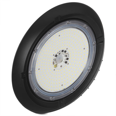 Campana LED UFO 150W Epistar 145Lm/W IP65 50000H Regulable | Blanco Frío (1916-HVUFO150W-H-CW)