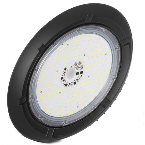 Campana LED UFO 200W Epistar 145Lm/W IP65 50000H Regulable   Blanco Frío (1916-HVUFO200W-H-CW)