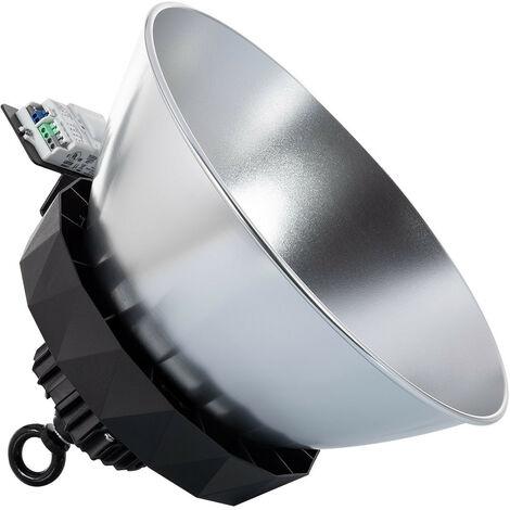 Campana LED UFO HBS SAMSUNG 150W 175lm/W LIFUD Regulable No Flicker con Sensor Mov. Crep. y Reflector Blanco 5000K 90º - Blanco 5000K 90º