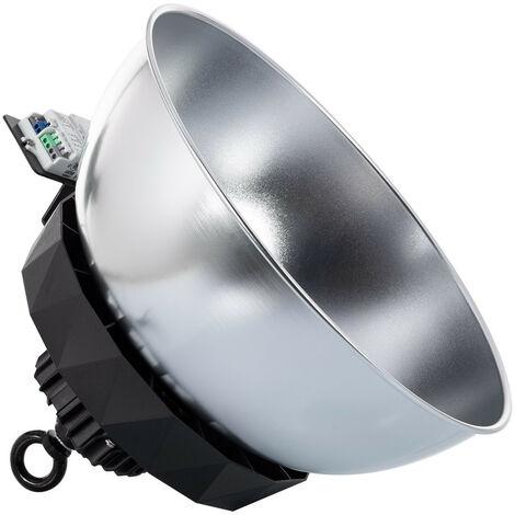 Campana LED UFO HBS SAMSUNG 200W 175lm/W LIFUD Regulable No Flicker con Sensor Mov. Crep. y Reflector