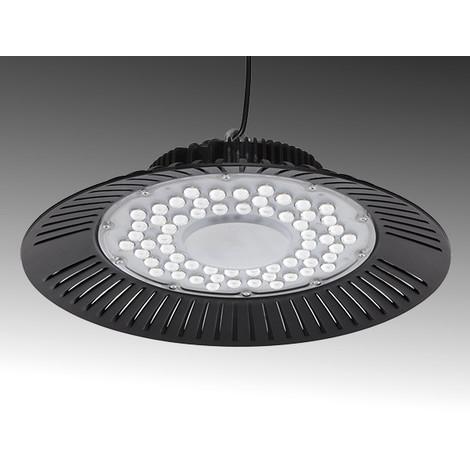 Campana LED UFO IP65 90º 200W 20000Lm 50.000H   Blanco Frío (TC-HB-200WK-CW)