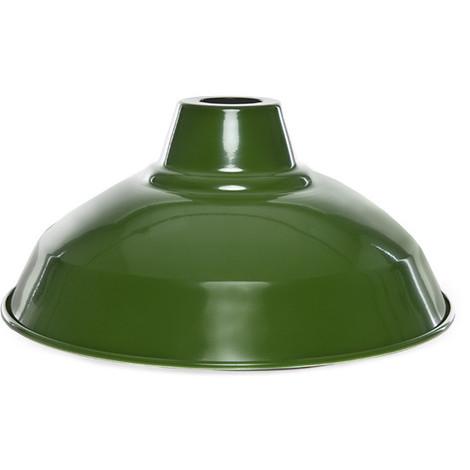 Campana Metalica Verde Ø30Cm (Portalámparas No Incluido) [AM-CA343] (AM-CA343)