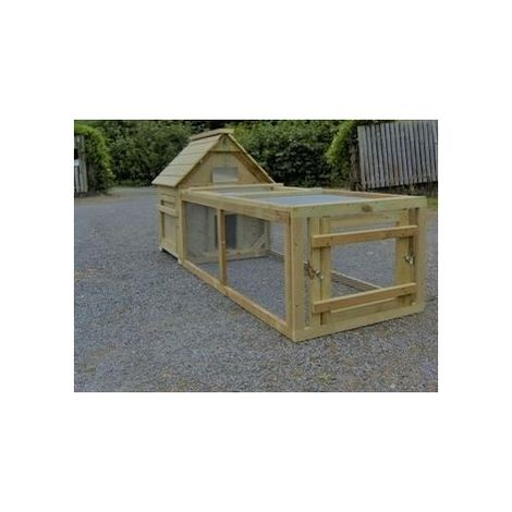 Campbell Duck or Waterfowl House with Run - Choice of sizes