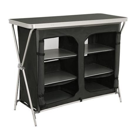 CampFeuer - camping cupboard, camping kitchen with aluminium frame