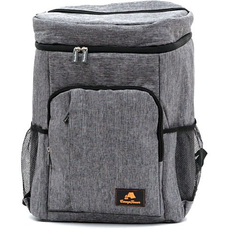 CampFeuer cooling backpack | gray | 20 liter insulating bag
