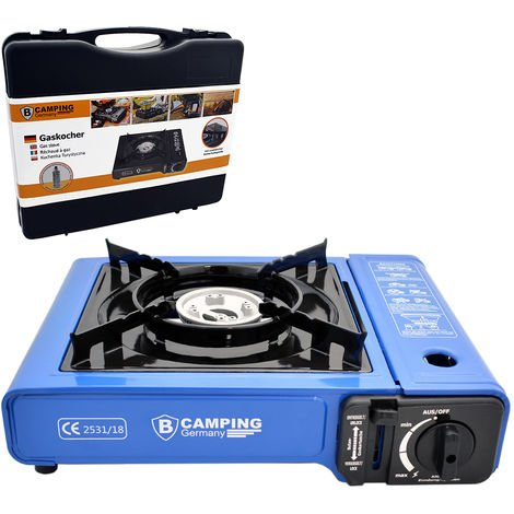Camping Gas Cooker Piezo-Ignition Carry Case