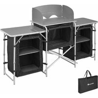 Camping Kitchen 172x52x104cm - camping kitchen unit, camping kitchen stand, camping cooking table