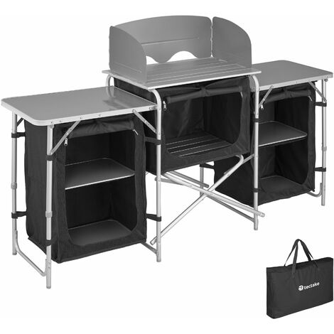 """main image of """"Camping Kitchen 172x52x104cm - camping kitchen unit, camping kitchen stand, camping cooking table"""""""