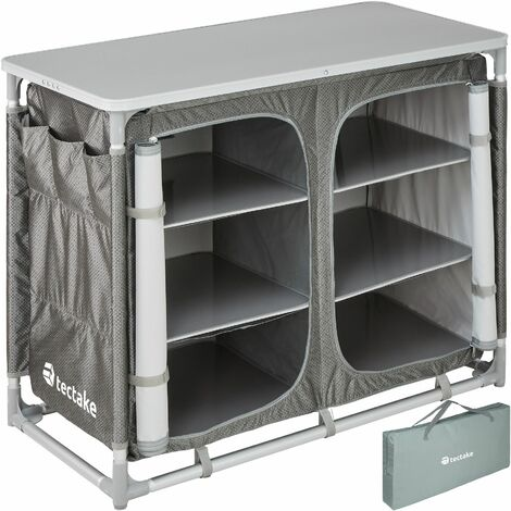 Camping Kitchen 97x47.5x78cm - camping kitchen unit, camping kitchen stand, camping cooking table