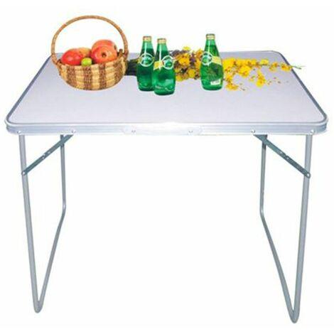 Camping-Klapptisch 80x60x68cm Gartentisch Partytisch Balkontisch Buffettisch