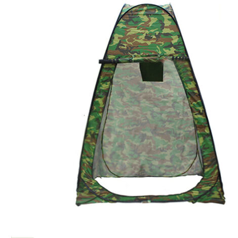 Camping Tent 120x120x190cm Camouflage Portable Up Changing Tent Waterproof Privacy Toilet Toilet Shower Outdoor Tent