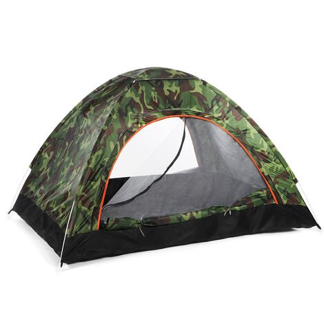 Camping Tent 200*120*150cm Camouflage 2-3 Person Waterproof Automatic Quick Shelter Outdoor Travel Outdoor Camping