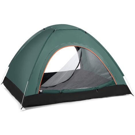 Camping Tent 200*120*150cm Dark Green 2-3 Person Waterproof Automatic Quick Shelter Outdoor Travel Outdoor Camping