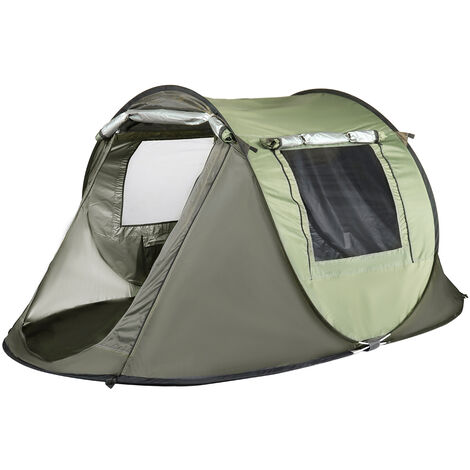 Camping Tent Automatic Outdoor Quick Open UV Protection Waterproof