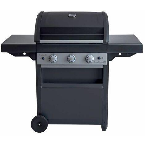CAMPINGAZ Barbecue a gaz CLASS 3 LBD - Grille et Plancha en acier - 61 x 45 cm