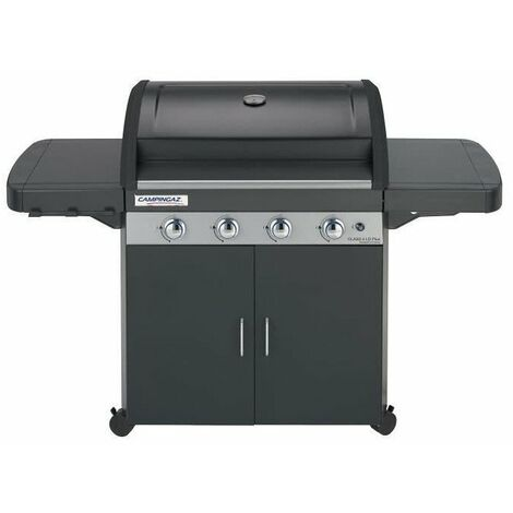 CAMPINGAZ Barbecue a gaz CLASS 4 LD Plus - Grille Culinary et Plancha fonte - 78 x 45 cm
