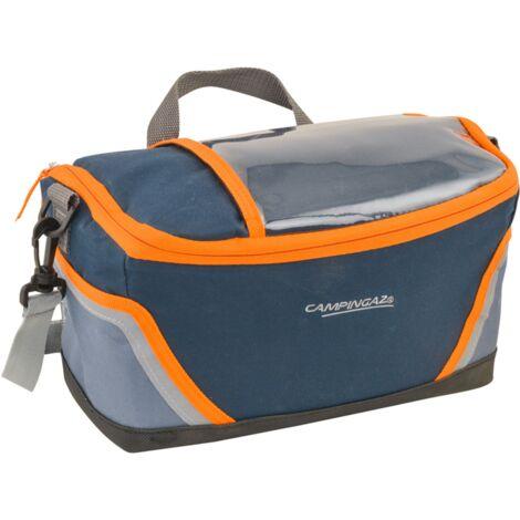 Campingaz Fahrradkühltasche Tropic 9L, Kühltasche, blau/orange