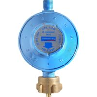 Campingaz Gasdruck-Regler, 30mbar - 50mbar, Druckminderer, blau, verstellbar